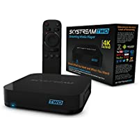 SkyStream TWO Streaming Media Player | 7.1.2 Nougat Android TV Box with 3GB DDR4/32GB, SkyStreamTV, 4K, AC Wireless & Ready to Stream Media Center