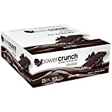 BioNutritional Research Group Choklat Crunch Protein Crisp Bars Dark Chocolate - 1.5 oz (43 g) bars - 12 count.(GLUTEN FREE)