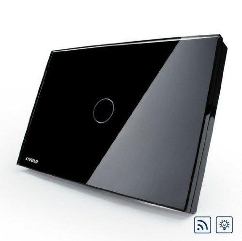 US/AU Standard, Remote Switch, Black Crystal Glass Panel, Wall Light Remote Dimmer Switch, VL-C301DR-82 by NIMTEK (Image #5)