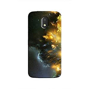 Cover It Up - Yellow Space Cloud Moto E3 Hard case