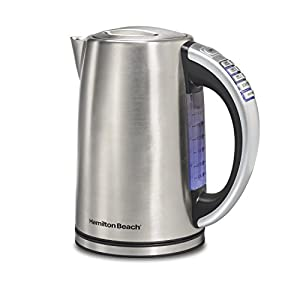 Hamilton Beach 41020 Electric Kettle, Stainless Steel