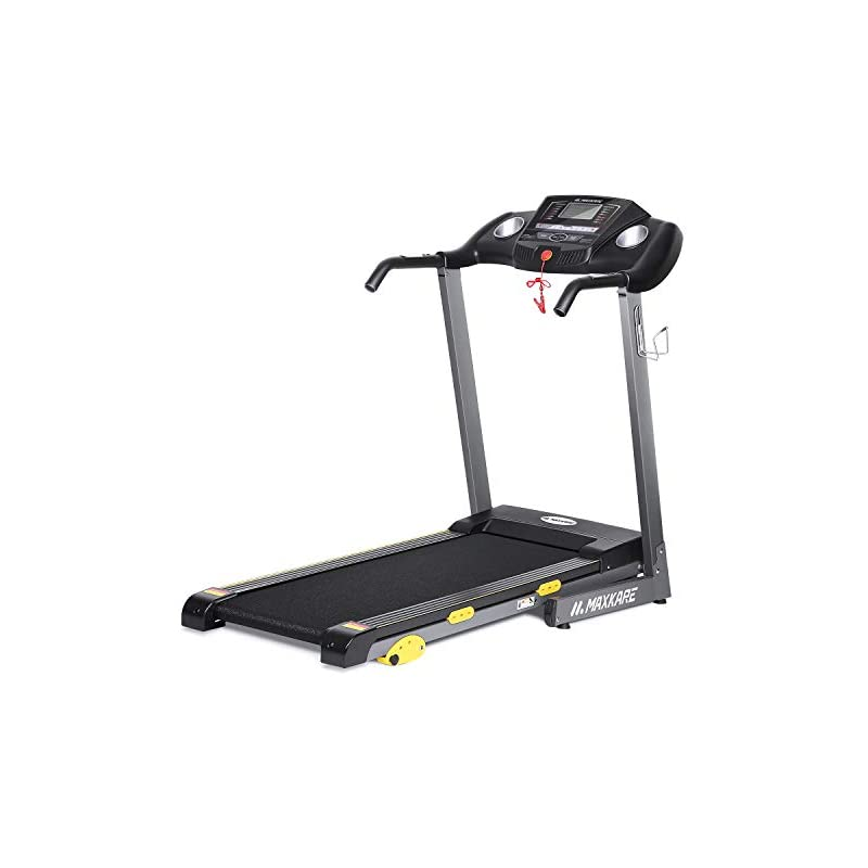 MaxKare Folding Treadmill w/Incline Elec