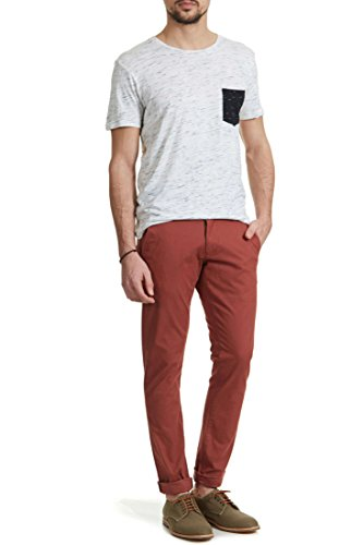 Pantalon Selected Three Paris Acajou Homme T36 L32