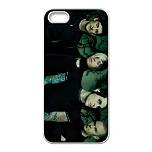 afi bandnormal iPhone 5 5s Cell Phone Case Whiteten-147167