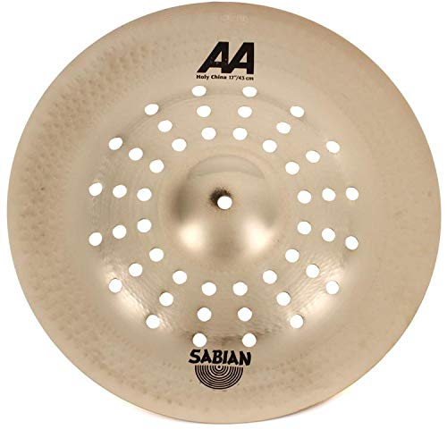 Sabian AA 17'' Holy China Cymbal, Brilliant Finish by Sabian