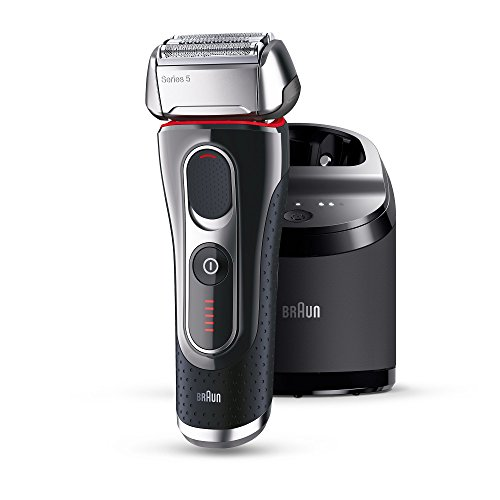 Braun Series 5 5090CC Electric Shaver With Cleaning Center / Charge Station, Enpowered by FlexMotionTec and PowerDrive
