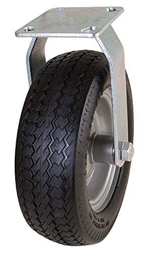 Marathon 10'' Rigid Caster with Flat Free Tire by Marathon Industries