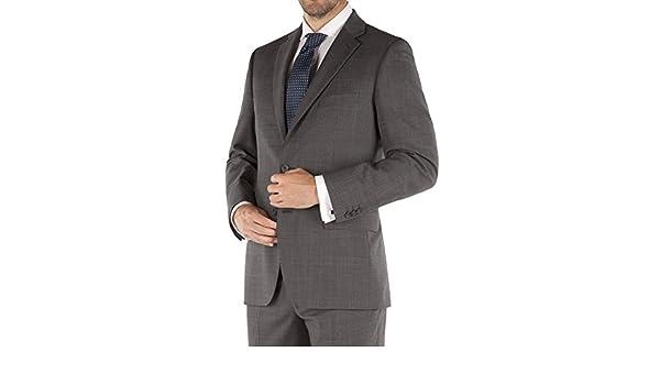 Suit Direct Pierre Cardin gris Príncipe de Gales Check chaqueta de ...