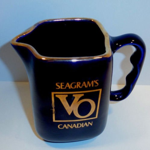 Seagrams Whiskey - Vintage Seagram's VO Canadian Whiskey Bar Pitcher