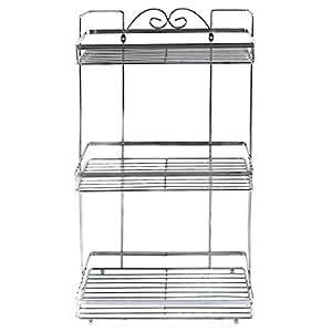 In-house Stainless Steel Bathroom Organizer Shower Storage Rack