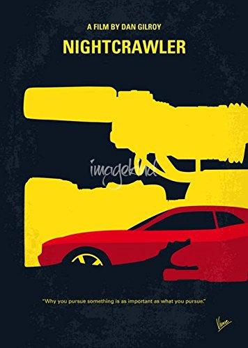 Wall Art Print entitled My Nightcrawler Minimal Movie Poster by Chungkong
