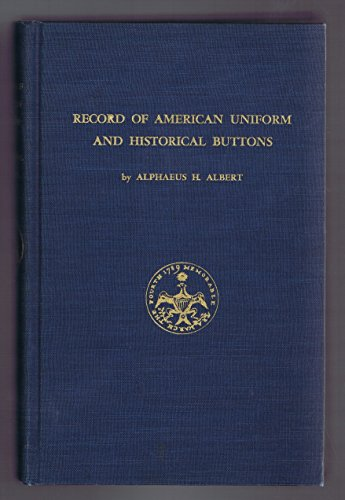 Record of American uniform and historical buttons ... -