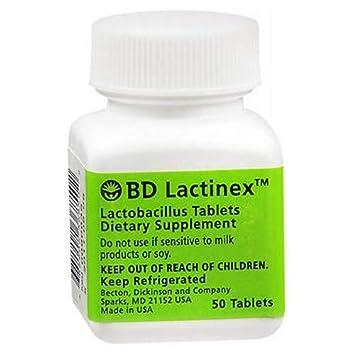 Amazon.com: Lactinex, pestaña (unidades por botella: 50 ...
