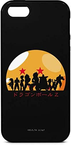 DRAGON BALL Z SILHOUETTED BLACK 2 iphone case