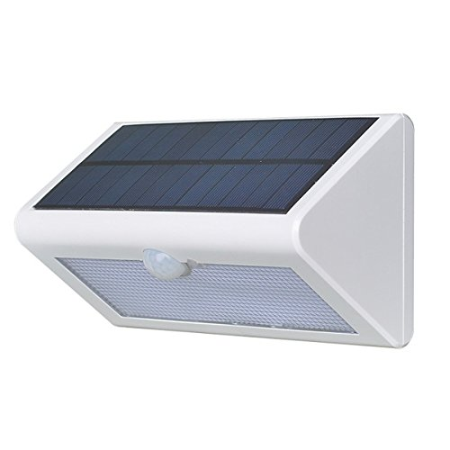 3-in-1 LED Solar Light Garden,WONFAST 38LED Solar Powered Motion Sensor Outdoor Security Wall Lamp for Outdoor Yard, Home, Driveway, Garage, Stairs Waterproof (white)
