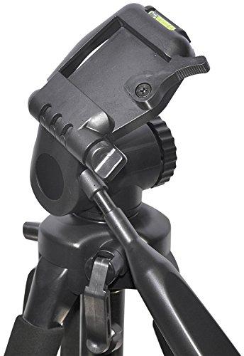 Professional 72-inch Tripod for All Canon Sony, Nikon, Samsung, Panasonic, Olympus, Kodak, Fuji, Cameras and Camcorders + BP Microfiber Cleaning Cloth