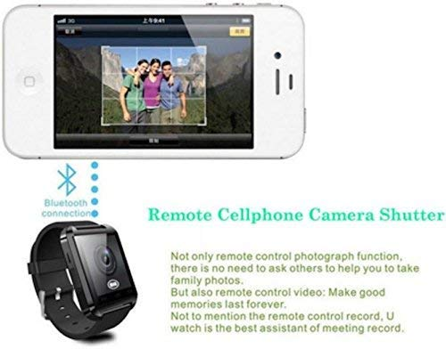 Celestech SM-NS01 Bluetooth Smartwatch Intelligence Health and Activity Tracker Unisex Digital Smartwatch for All Smartphones (Black)