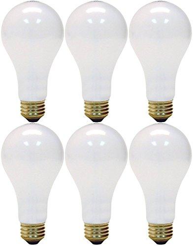 200 Watt 3 Way - GE Lighting 3-Way 50-200-250 Soft White Light Bulb (Pack of 6)