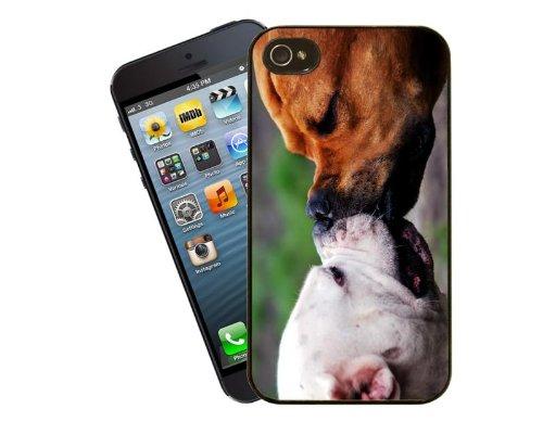 Staffordshire Bull Terrier étui pour téléphone portable design, 17–Coque pour Apple iPhone 4/4S–by Eclipse idées cadeau