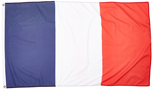 3Ft X 5Ft France Flag   Polyester   3X5 French Flag Poly
