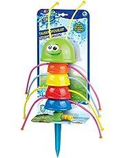 Xtrem Toys 00325 Waterplezier voor duizendvoetjes, sproeier, sprankelend speelplezier voor kinderen vanaf 6 jaar, ideaal voor de tuin, in de zomer, gewoon op de tuinslang aansluiten