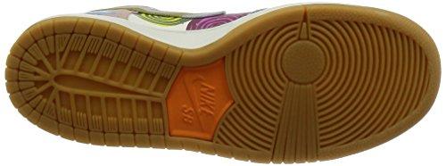 Nike, Uomo, SB Zoom Dunk High Premium, Pelle, Sneakers Alte, Bianco