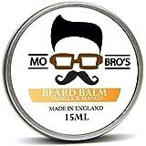 Mo Bro's - Beard Balm 15ml Tin Made in England - 6 Different Scents (Vanilla & Mango)