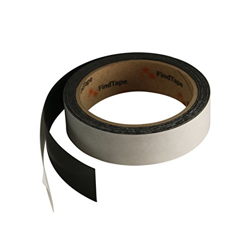 (FindTape MGRS Receptive Steel Tape: 0.025 in. thick x 1 in. x 10 ft. (Black))