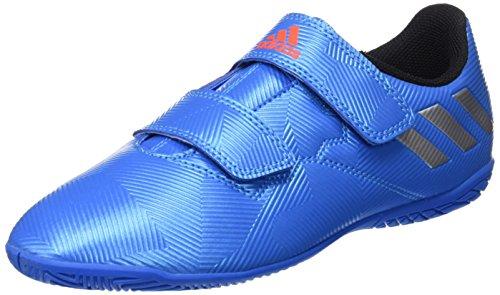 adidas Messi 16.4 In J H&l, Botas de Fútbol para Niños Azul (Azuimp / Plamat / Negbas)