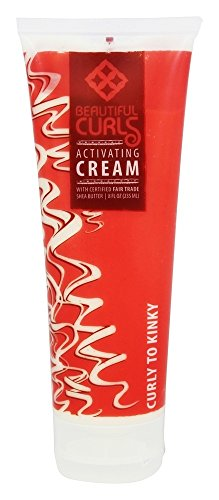 Alaffia, Curl Cream Activating Curly To Kinky, 8 Fl Oz