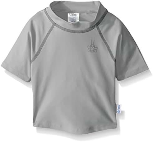 i play. Baby & Toddler Short Sleeve Logo Rashguard Shirt
