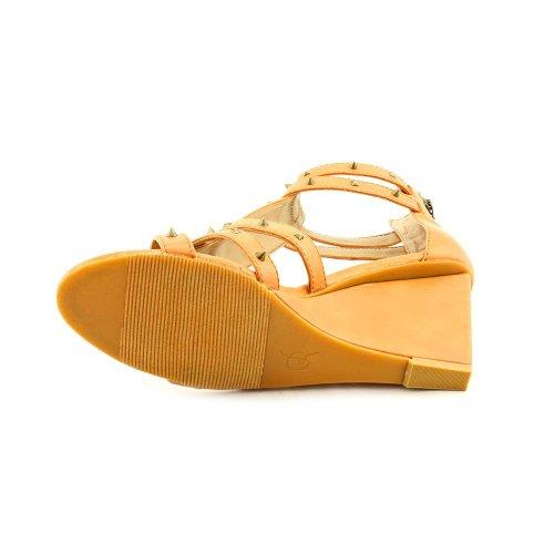Sandals Rachel Light Natural Roy Brown Ollysa Wedge wwCtPgq
