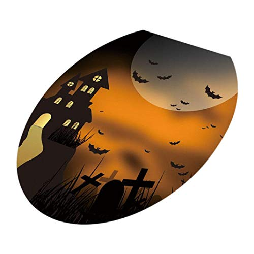 Saddle Regular Tree - Clearance Sale ! Halloween Decoration for Home,Vanvler Toilet Seat Cover Wall Sticker Decals Vinyl Removable Wallpapers (G)