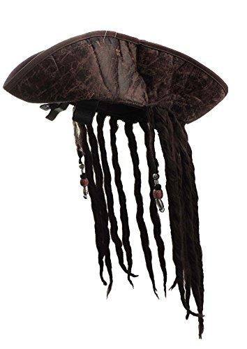 Buy pirate dreadlock wig