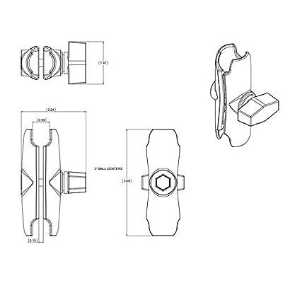 RAM Double Socket Arm: Industrial & Scientific