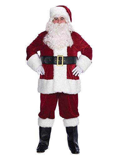 (Velvet Complete Santa Costume - Adult-X-Large)