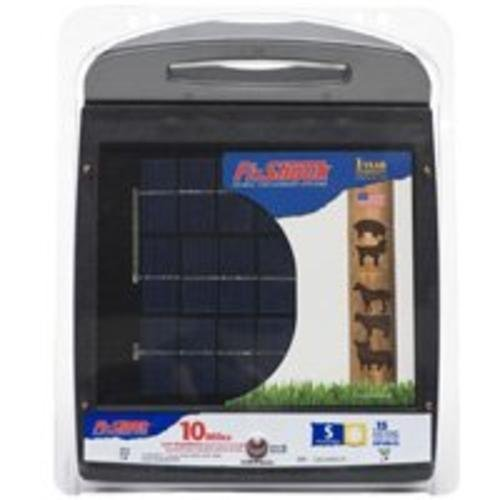 - Fi-Shock ESP10M-FS 10-Mile Solar Powered Low Impedance Electric Fence Energizer