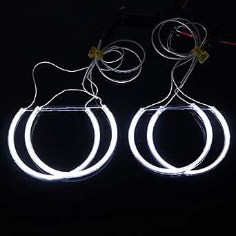 Juego de 4 luces LED CCFL de ojo de ángel para auto ...