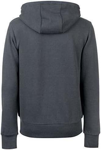Firetrap Mens Hooded Sweatshirt Printed Camo Fleece Hoodie Top Grey Beige Raven