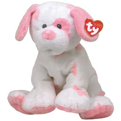 Amazon Com Ty Baby Pups Pink Dog Baby Pups Pink Dog Toys Games