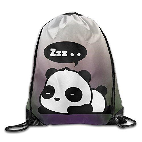 Price comparison product image Drawstring Backpack Bag Sleeping Panda