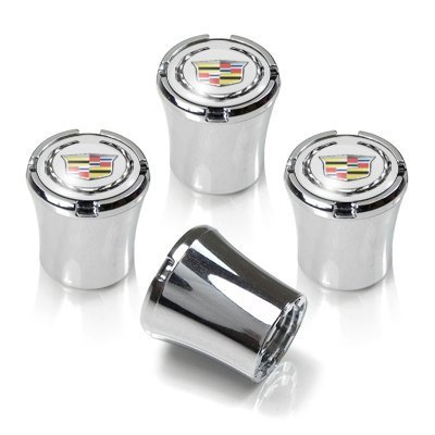 CzlpV 4 Pcs Tire Valve Stem Caps For Cadillac