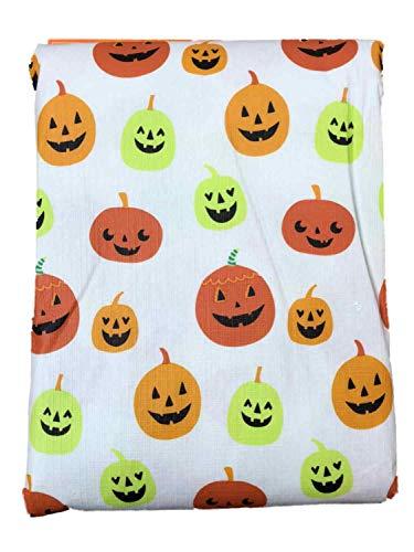 decor Halloween Pumpkins Vinyl Tablecloth, 60x84 Table