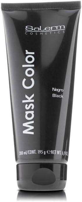 Salerm Cosmetics Mask Color Negro 200 ml