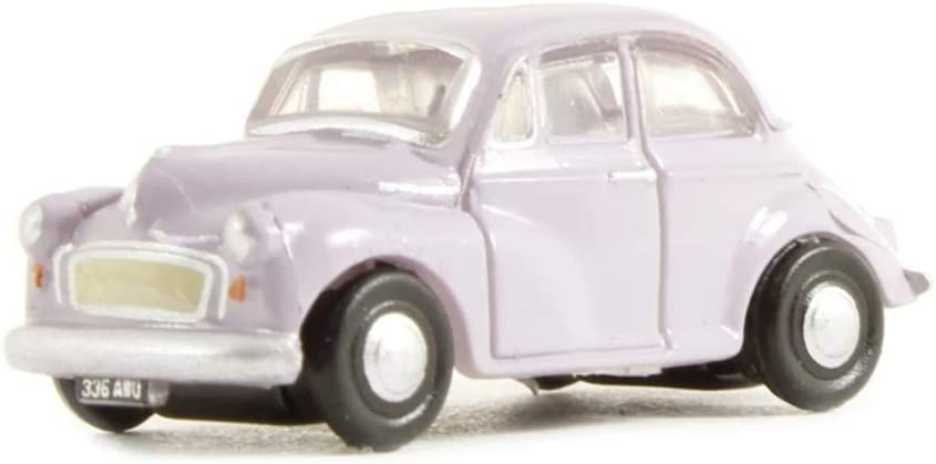 NMOS001 Oxford Diecast 1:148 Scale N Gauge Morris Minor Saloon Lilac