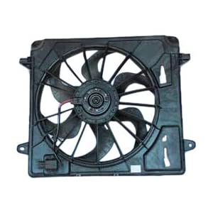 TYC 621680 Jeep Wrangler Replacement Radiator/Condenser Cooling Fan Assembly