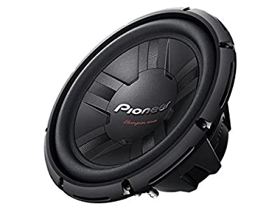 "Pioneer TSW311D4 Champion Series 12"" Subwoofer with Dual 4-Ohm Voice Coils by Pioneer Electronics USA Inc"
