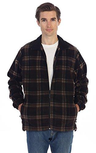 Plaid Toggle Jacket - 6