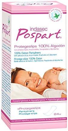 Indasec Postpart Protegeslips 100% Algodón - 60 gr: Amazon.es: Belleza