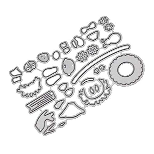 Cutting Dies,IHGTZS 2019 Mother's Day DIY Scrapbooking Album Die-Cut New Metal Scrapbooking Tools Gift for Mother DIY Photo Album Die-Cut For Scrapbooking Paper Card Gift Metal Stencils